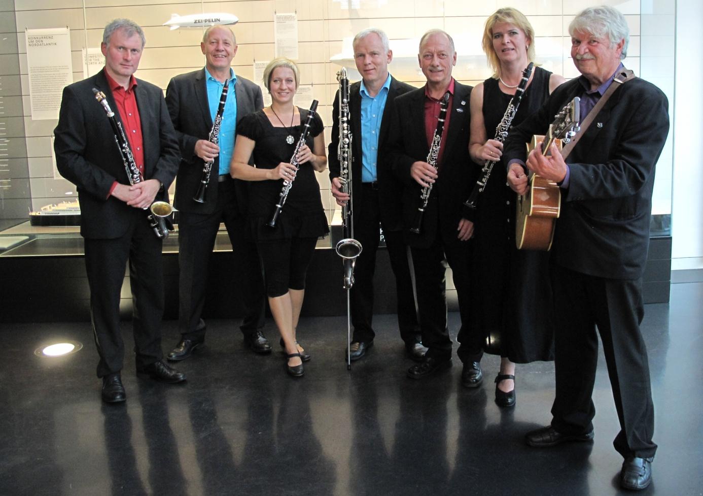 Neujahreskonzert mit dem Zeppelin-Ensemble im Gleis 1 in Meckenbeuren