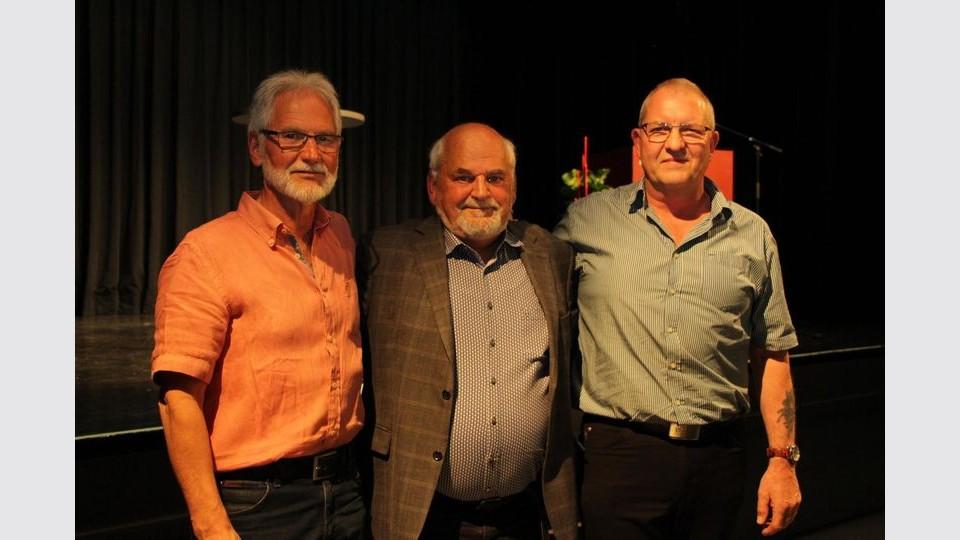 Rudolf Sterk (links) bleibt als Stellvertreter, das Amt des Vorsitzenden geht von Max Jung auf Harald Assfalg (rechts) über. (Foto: rwe)