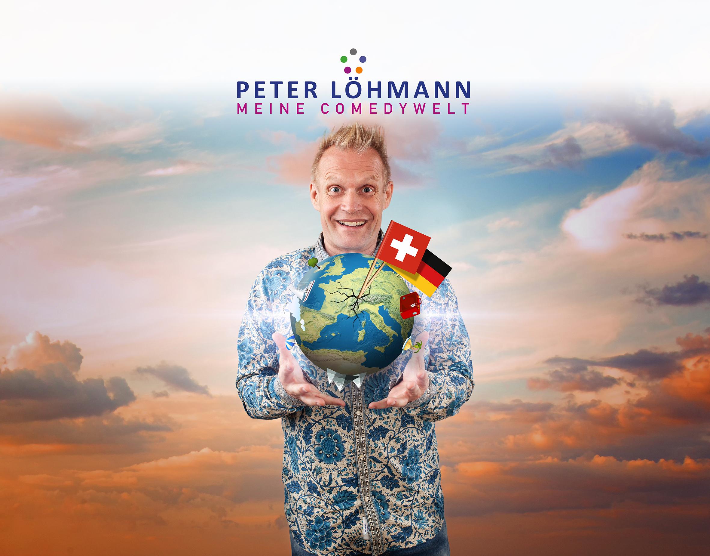 Meine Comedywelt - Peter Löhmann im Gleis 1 in Meckenbeuren