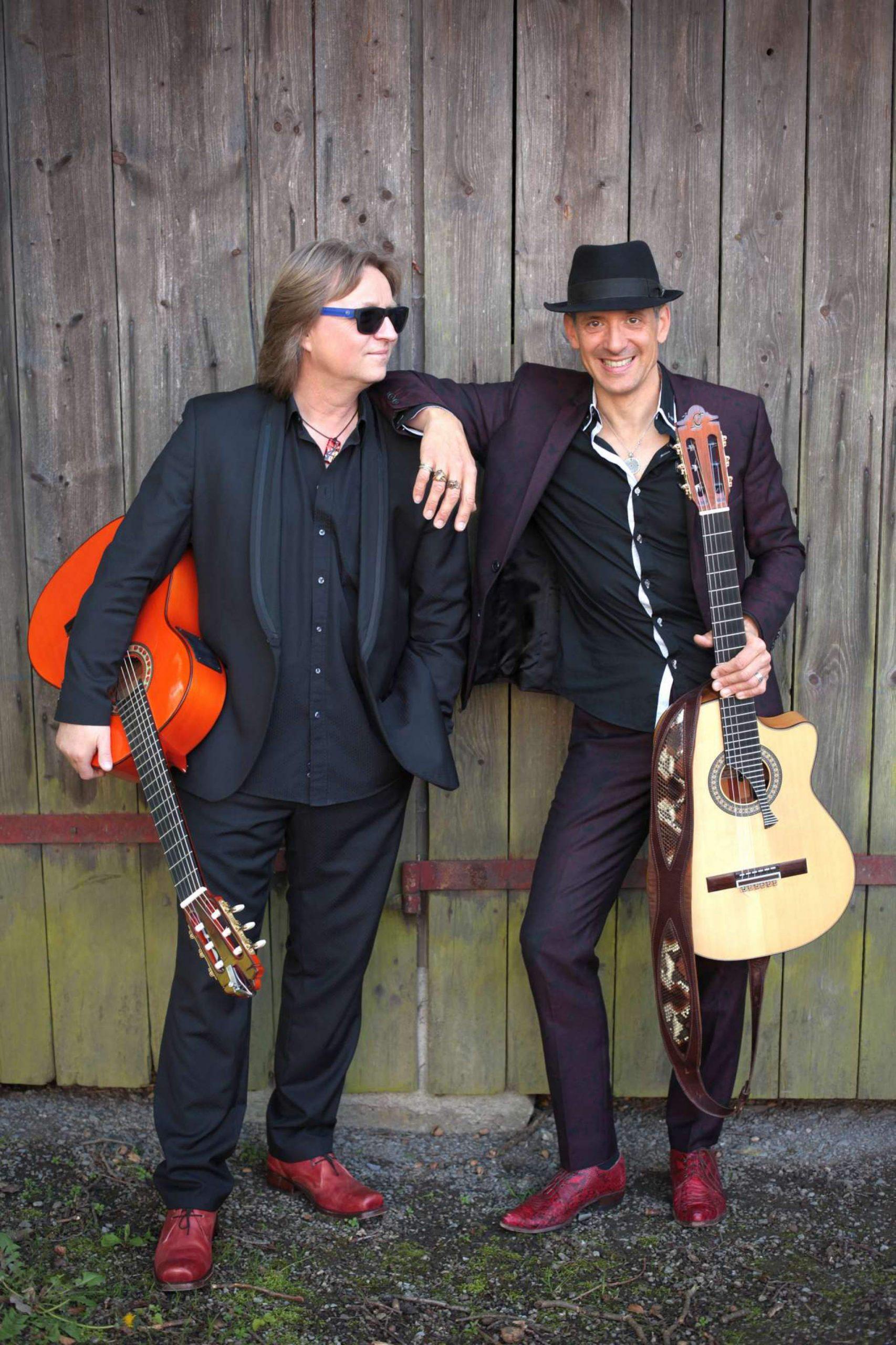 Magic acustic Guitars – instrumentale Gitarrenpower zu Gast im Gleis 1 in Meckenbeuren